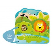 Hape Infant Board Book Baby's Wild Animal
