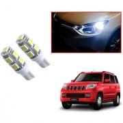 Auto Addict Car T10 9 SMD Headlight LED Bulb for Headlights Parking Light Number Plate Light Indicator Light For Mahindra TUV-300
