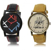 The Shopoholic Black Brown Combo New Collection Black And Brown Dial Analog Watch For Boys Stylish Watches For Men