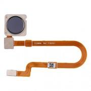 JUNXI Phone Sensor de Huellas Dactilares Cable Flexible for Xiaomi MI 8 Lite (Negro) de Alta Calidad (Color : Black)