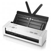 Escaner Documental Brother Ads-1200 Compacto Departamental/ 25ppm/ Duplex Automatico/ Micro Usb 3.0/ Adf 20 Hojas