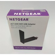 Netgear NEW NETGEAR Dual Band A6210-100PES AC1200 802.11ac High Gain Wi-Fi USB