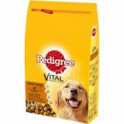 PEDIGREE hrana za pse briketi, govedina i živina 15kg 520225