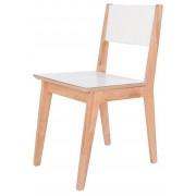 Producent: Elior Krzesło skandynawskie Idylio - olcha + biały