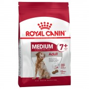 15kg Medium Adult 7+ Royal Canin ração cão