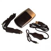 Câble de chargement USB + Socle + chargeur allume-cigare pr batterie TOSHIBA PX1686 PX-1686 pr Toshiba Camileo BW10 BW10 HD SX500 SX-500 SX-900 SX900