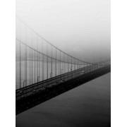 Kolla Print Golden Gate Bridge One (fler stl) (Storlek: 21x30 cm, Vit marginal: 10 cm)