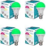 SWARA B22 12W COLOR LED BULB GREEN- PACK OF 4
