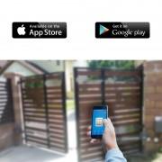 Smart N1 WiFi gate opener - Modul control automatizare porti/usa garaj prin wireless de pe smartphone (Android/iOS) (OEM)