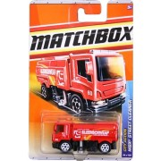 2011 Matchbox City Action MBX Street Cleaner Red #64 of 100
