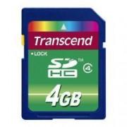 Transcend Scheda di memoria SDHC Transcend TS4G4 4Gb