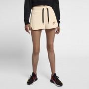 Nike Air Fleece-Shorts für Damen - Cream