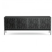 BDI Elements 8779 with Wheat Doors, Console Base and Charcoal Finish