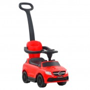 vidaXL Ride-on Car with Push Bar Mercedes Benz GLE63 Red