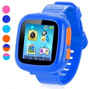 "Game Smart Watch for Kids, Children's Camera 1.5 ""Touch Screen Pedometer 10 Games Timer Alarm Clock Health Monitor Boys Girls Game Watches (Dark Blue)"