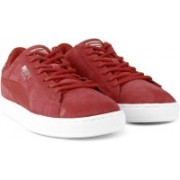 Puma Suede Classic Mesh FS IDP Sneakers For Men(Red)
