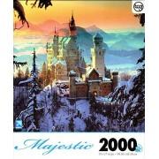 TCG Winter At Neuschwanstein Castle By Hans Peter Huber 2000 Piece Puzzle
