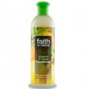 Balsam de par Faith in Nature, cu grapefruit si portocale, pt. par normal sau gras, 400 ml
