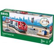 BRIO Treinset Treinbaan Passagierstrein set - Hout