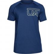 Under Armour Men's MK1 Graphic T-Shirt - Navy - L - Blue