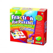 EDUCATIONAL INSIGHTS FRACTION PIE PUZZLES (Set of 3)
