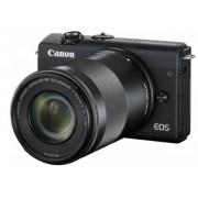 Canon EOS M200 Kit schwarz + EF-M 15-45 + 55-200 IS STM