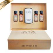 Set Essential Oils 2 (4 x 20 ml) + difuzor CADOU