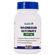 Healthvit Magneed-G 400 Chelated magnesium Glycinate 400mg 60 Tablets