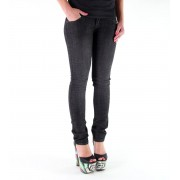 kalhoty dámské (jeansy) METAL MULISHA - Babe Skinny - BLACK