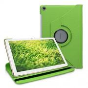 kwmobile Funda Compatible con Huawei MediaPad M5 Lite 10 Carcasa de Cuero sintético para Tablet en Verde