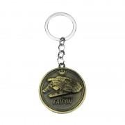 Breloc Star Wars Millenium Falcon Bronze