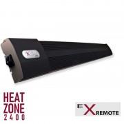 Extreme Line Heat Zone (Farbe: Schwarz, Leistung: 2400 Watt, Ausführung: Mit ExRemote Steuerung)