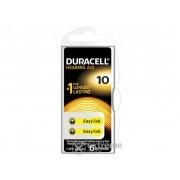 Baterii Duracell DA10 6 buc., pentru aparat auditiv