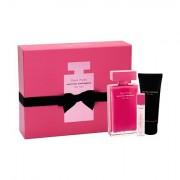 Narciso Rodriguez Fleur Musc for Her confezione regalo eau de parfum 100 ml + eau de parfum 10 ml + lozione corpo 75 ml Donna