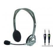 HEADPHONES, LOGITECH H110, Microphone (981-000271)