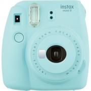Fujifilm Instax Mini9 - Azzurro Ghiaccio - Fotocamera a Pellicola Istantanea - 2 Anni Di Garanzia in