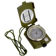 Big Size 3 in 1 Military Hiking Camping Lens Lensatic Magnetic Compass - 33B