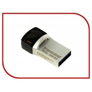 USB Flash Drive 16Gb - Transcend JetFlash 890S USB 3.1 Silver TS16GJF890S