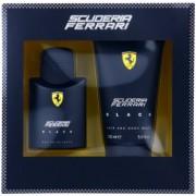 Ferrari Scuderia Ferrari Black coffret IV. Eau de Toilette 75 ml + gel de duche 150 ml