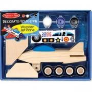 Комплект Направи си сам - Дървен самолет - 13339 - Melissa and Doug, 000772133395