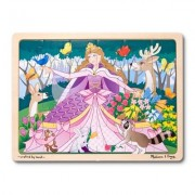 Melissa and Doug Woodland Princess Jigsaw (24 Piece)