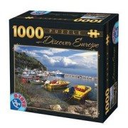 DToys Puzzle 1000 Discover Europe 03 (07/65995-03)
