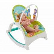 Balansoar portabil pentru nou nascuti cu bara cu jucarii Fisher Price