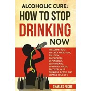 Alcoholic Cure: Stop Drinking Now: Freedom from Alcohol Addiction, Solution, Alcoholism, Dependency, Wirthdrawl, Substance Abuse, Reco, Paperback/Charles Fuchs