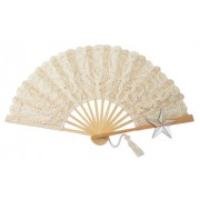 New! Lace Bridal Fans