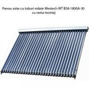 Panou solar cu tuburi vidate Westech WT B58-1800A-30 cu rama montaj