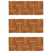 vidaXL Drewniane płytki tarasowe 30 x 30 cm akacja 30 w zestawie