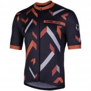 Nalini Discesa Short Sleeve Jersey - L - Black/Red