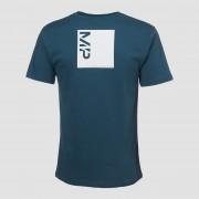Myprotein T-shirt Rest Day Coordinates - Petrolio - L