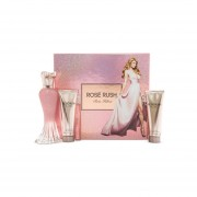 Kit De Perfume Paris Hilton Rose Rush Eau De Parfum 100 ml 4 Piezas - Rosa